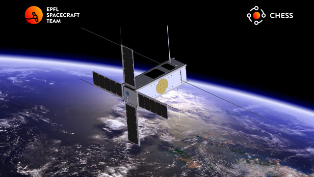 CHESS CubeSat - Credit EPFL Spacecraft Team