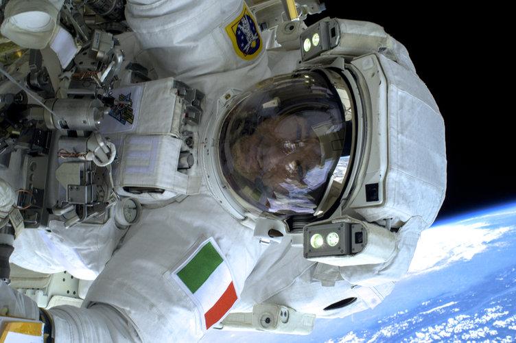 Luca spacewalk